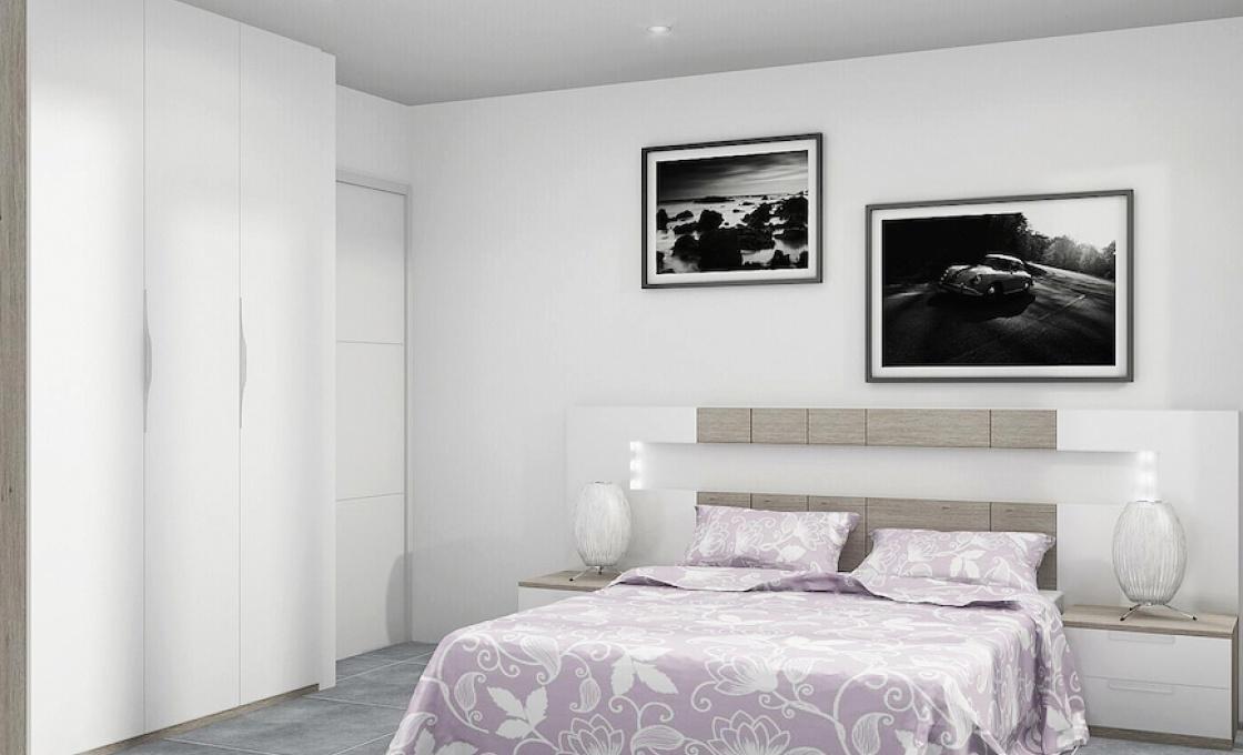 2 Chambres, Appartement, Bien Neuf, 2 Salles de bain, Listing ID 1982, Lo pagan, Espagne,