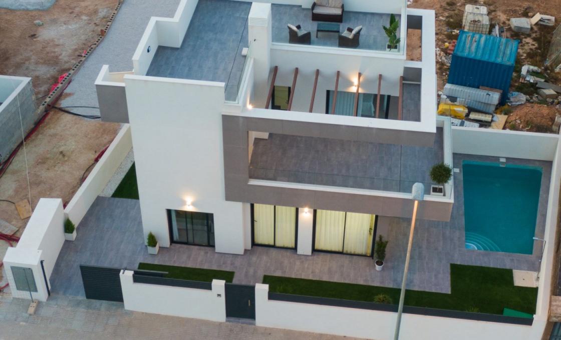 3 Chambres, Villa, Bien Neuf, 3 Salles de bain, Listing ID 2000, Montesinos, Espagne,