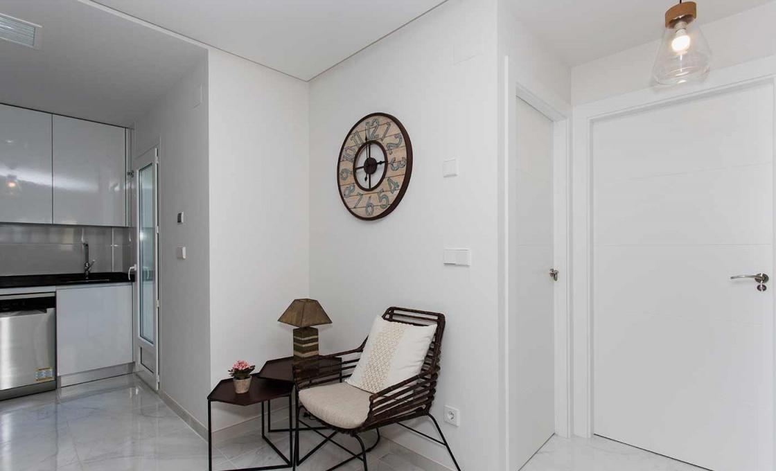 3 Chambres, Appartement, Bien Neuf, calle Gabrielle mistral, 2 Salles de bain, Listing ID 2042, Torrevieja, Espagne, 03180,
