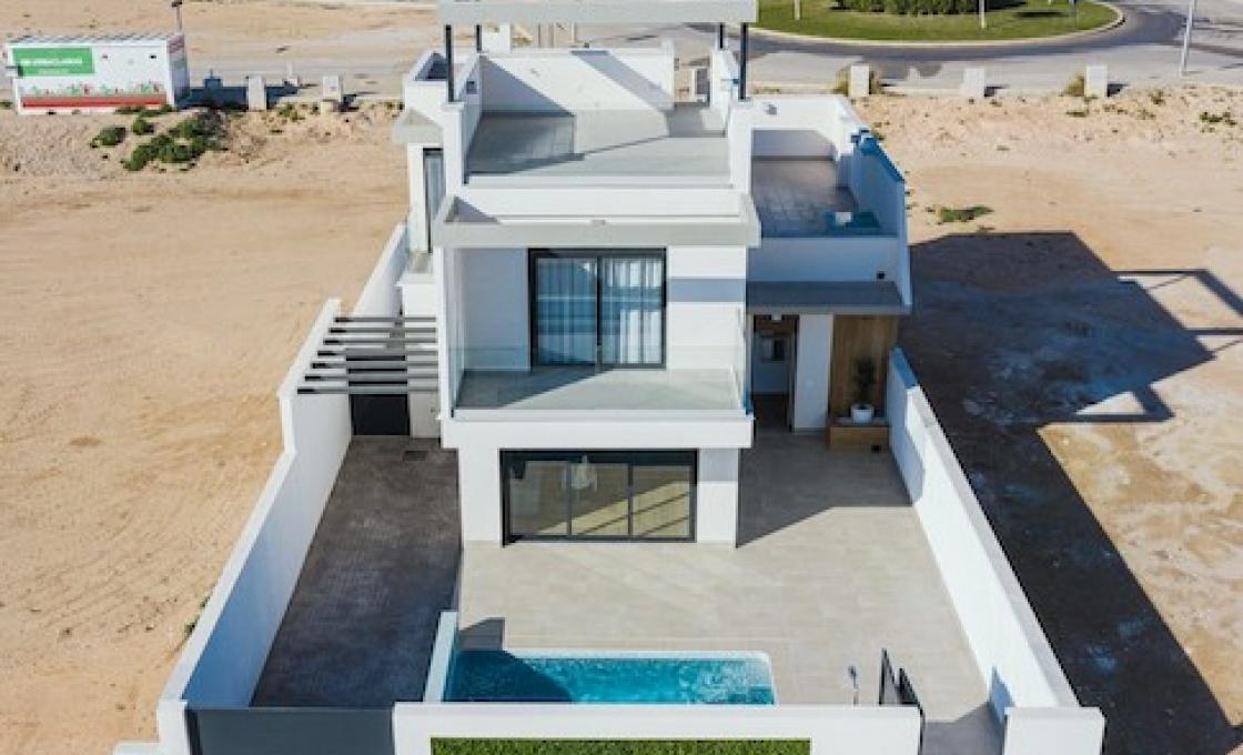 3 Chambres, Villa, Bien Neuf, 2 Salles de bain, Listing ID 2086, Roda golf&beach resort, Espagne,