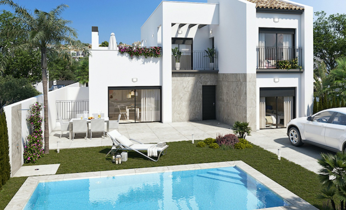 3 Chambres, Villa, Bien Neuf, Calle El Salvador , 2 Salles de bain, Listing ID 2102, Cuidad Quesada, Espagne,