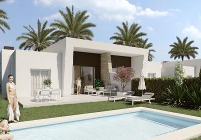 3 Chambres, Villa, Bien Neuf, 2 Salles de bain, Listing ID 2104, La finca golf, Espagne,