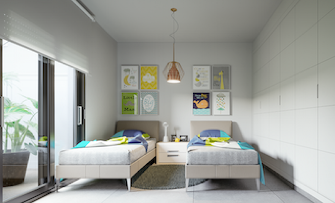 2 Chambres, Villa, Bien Neuf, 2 Salles de bain, Listing ID 2105, Roda golf, Espagne,
