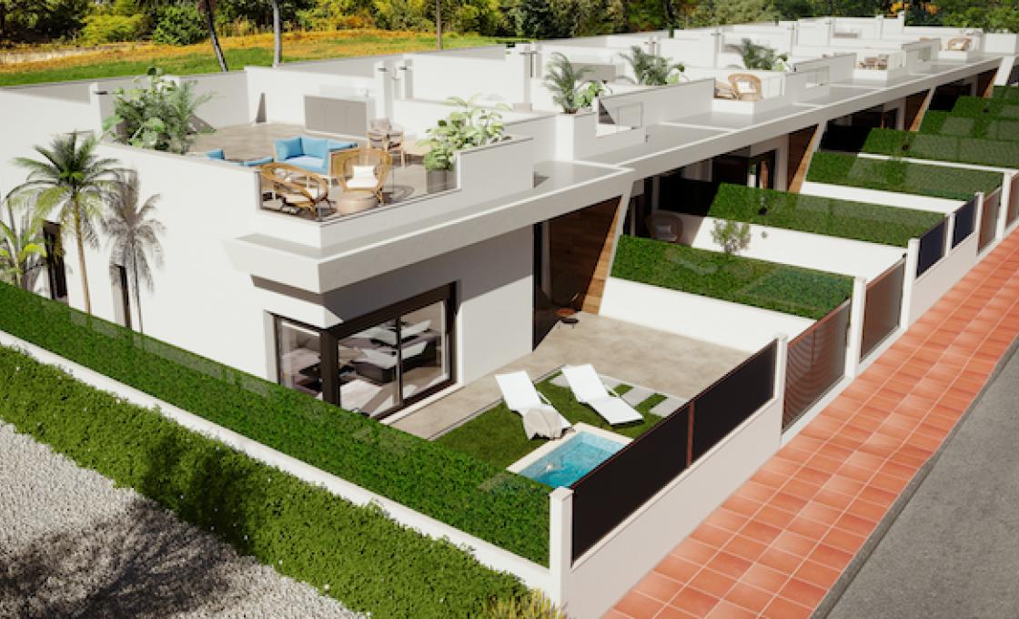 3 Chambres, Villa, Bien Neuf, 2 Salles de bain, Listing ID 2106, Roda Golf, Espagne,