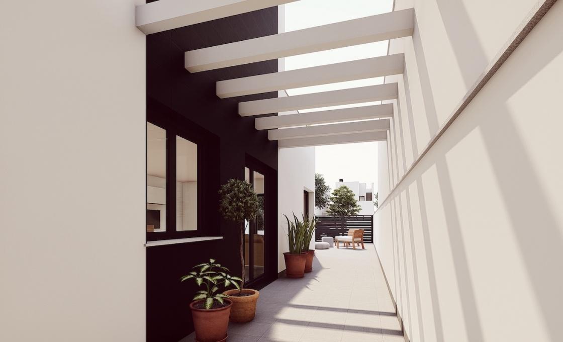 3 Chambres, Villa, Bien Neuf, Calle contramaestre, 2 Salles de bain, Listing ID 2110, San Pedro Del Pinatar, Espagne,