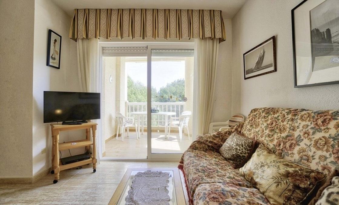 1 Chambres, Appartement, À Vendre, Dehesa de campoamor, 1 Salles de bain, Listing ID 2112, Orihuela Costa, Espagne, 031899,