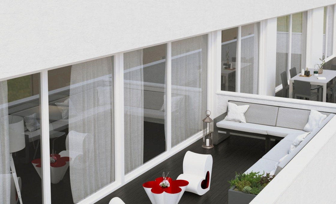 3 Chambres, Appartement, Bien Neuf, 2 Salles de bain, Listing ID 1941, Torrevieja, Espagne, 03180,